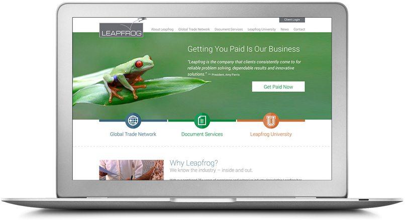 Epic Notion Digital Marketing   Leapfrong Laptop Website Development and Design
