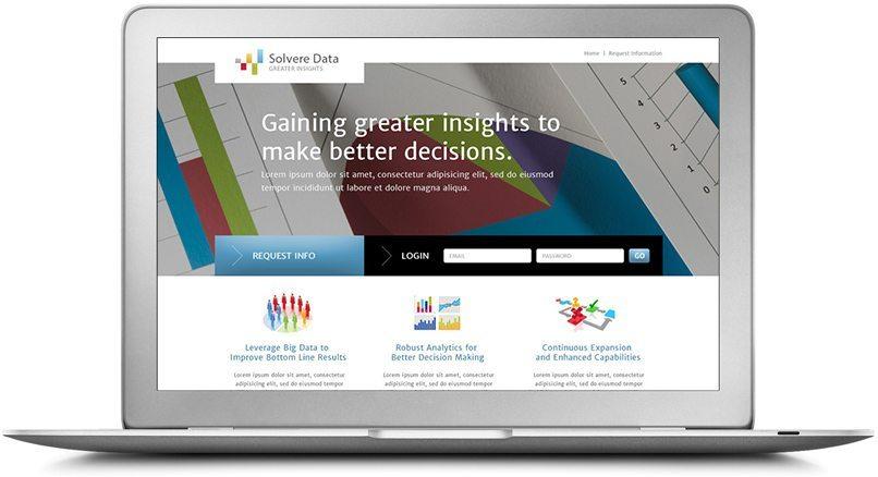 Epic Notion Client Solvere Data | Website Desktop Development and Design | Charlotte, NC