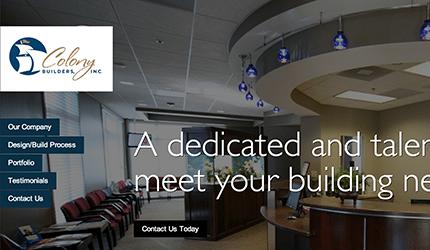 Epic Notion Digital Marketing | Colony Builders Website Development and Design