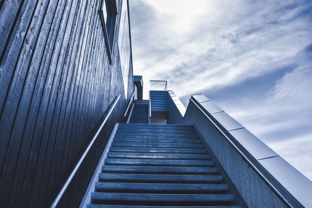 Stairs | Take It Up One Level: The Key to Social Media Strategies | Epic Notion Blog