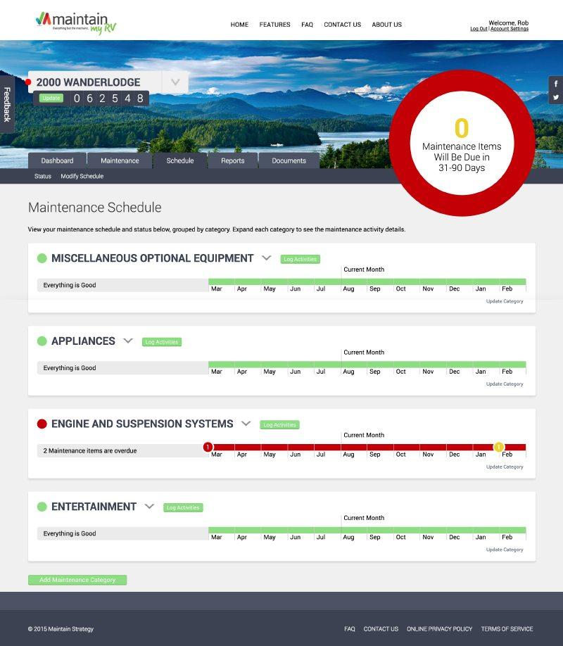 Epic Notion Digital Marketing | Maintain My RV Website Development and Design