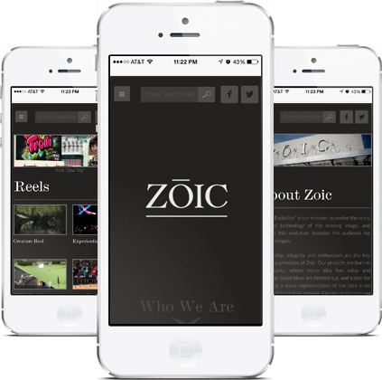 Epic Notion Digital Marketing | ZOIC Mobile Website Development and Design