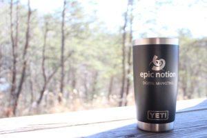 Epic Notion Digital Marketing Yeti Merchandise