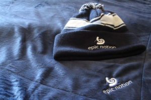 Epic Notion Digital Marketing Hat and Blanket