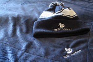 Epic Notion Digital Marketing Hat and Blanket